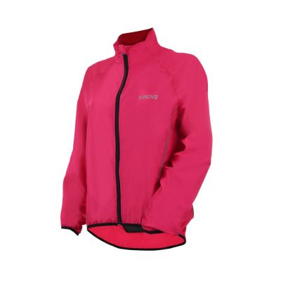 Proviz Pack It Windproof Womens Jacket Pink 10