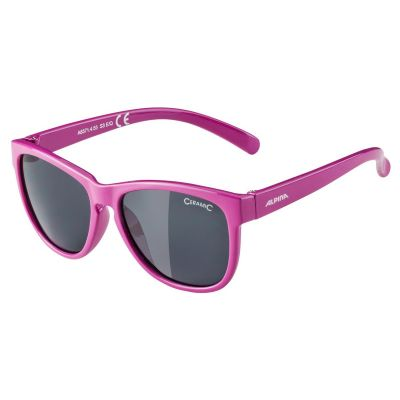 Alpina Luzy Youth Glasses Berry Black Lens