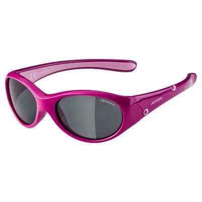 Alpina Flexxy Girl Glasses Rose Pink/Black Lens