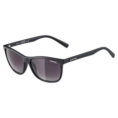 Alpina Jaida Glasses Black/Black Gradient Lens