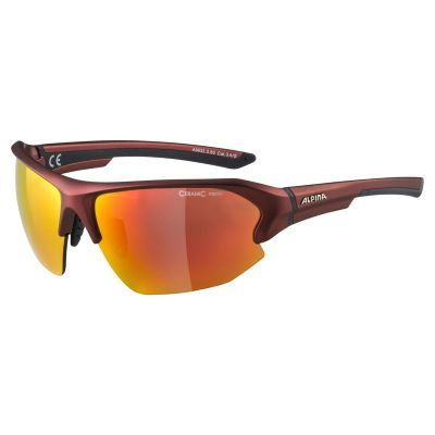Alpina Lyron HR Glasses Cherry/Red Lens