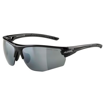 Alpina Tri Scray 2.0 HR+ Glasses Black/Black Lens