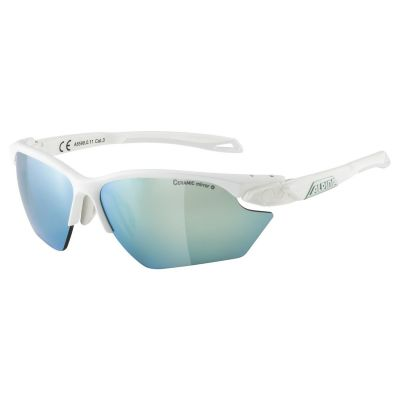 Alpina Twist 5 HR S CM+ Glasses White/Emerald Lens