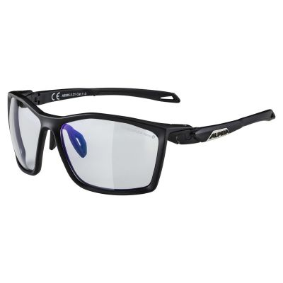 Alpina Twist 5 VLM+ Glasses Black/Blue Lens