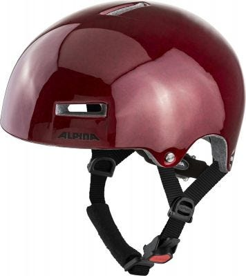 Alpina Airtime 52-57cm Red
