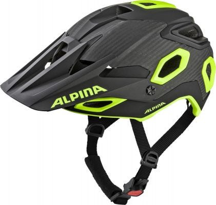Alpina Rootage Helmet Black/Neon Yellow
