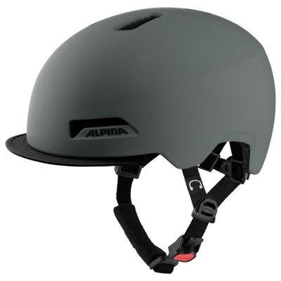 Alpina Brooklyn Urban Helmet Coffee Grey