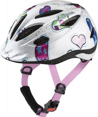 Alpina Gamma Junior Helmet Hearts