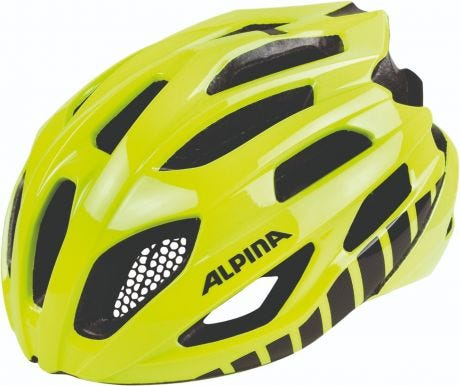 Alpina Fedaia Road Helmet Yellow/White