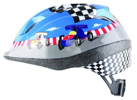 ETC Race Car Junior Helmet Blue