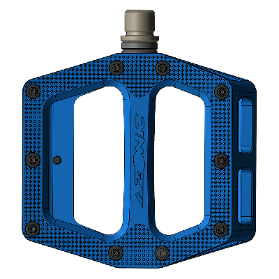 """Azonic Pucker Up MTB Pedals Blue 9/16"""""""