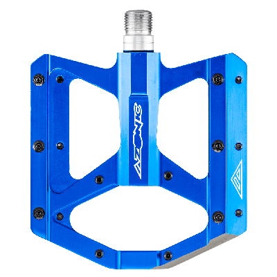 """Azonic Wicked RL MTB Pedals Blue 9/16"""""""