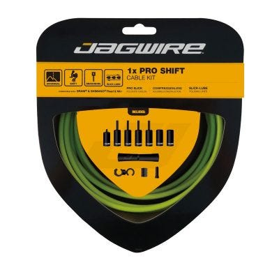Jagwire 1x Pro Shift Kit Organic Green