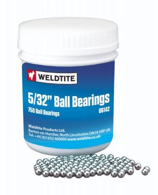 "Weldtite Bearing 5/32"" Workshop Pack (x750)"