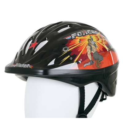 Bumper Force Helmet Black/Orange