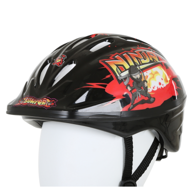 Bumper Ninja Helmet Black/Red