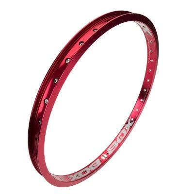 "Box Focus 20 x 1 1/8"" Rear BMX Rim Red"