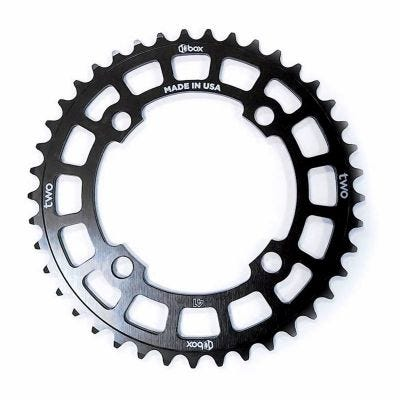 Box Two 6061 Chainring 104mm 4 Bolt Black