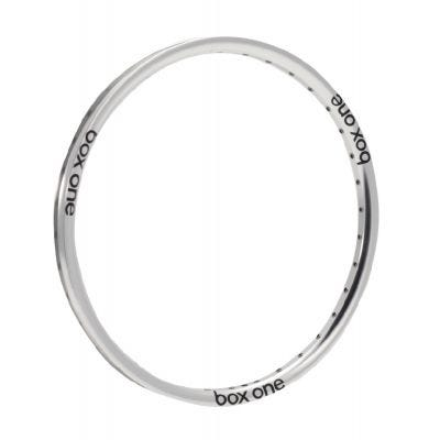 Box One Focus Front Rim Silver 28H 24 x 1 1/8""