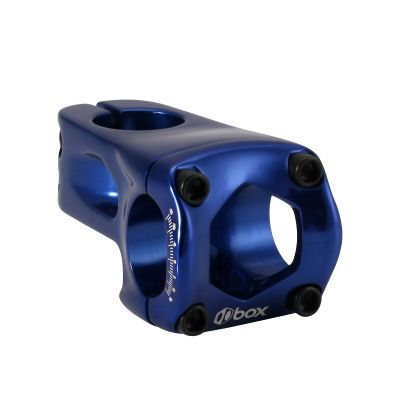 Box One Front Load Pro Stem Blue 53mm x 31.8mm x 1/8""