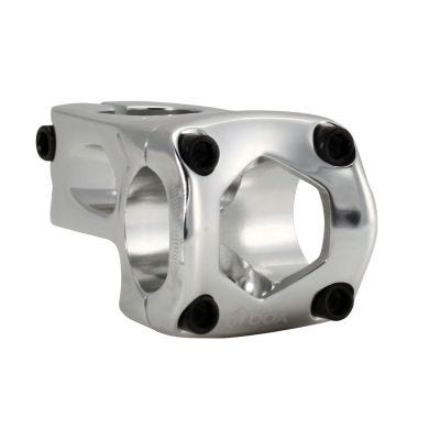 Box One Front Load Pro Stem Silver 53mm x 31.8mm x 1/8""