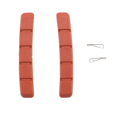 Box Two BMX Replacement Brake Pads 70mm Red
