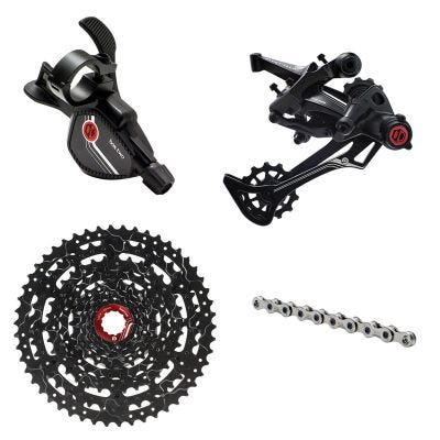 Box Two Prime 9 Speed X-Wide Groupset