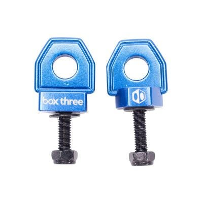 Box Three BMX Chain Tensioner Blue 10mm Axle