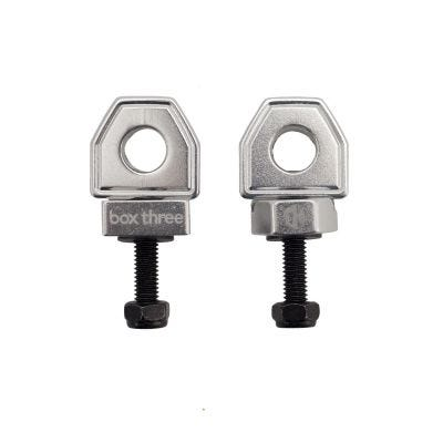 Box Three BMX Chain Tensioner Silver 10mm Axle