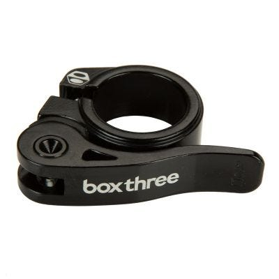 Box Three Quick Release Seat Clamp 25.4mm Black
