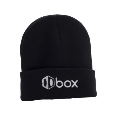 Box Beanie Black One Size