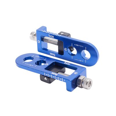 Box One BMX Chain Tensioner Blue 10mm Axle