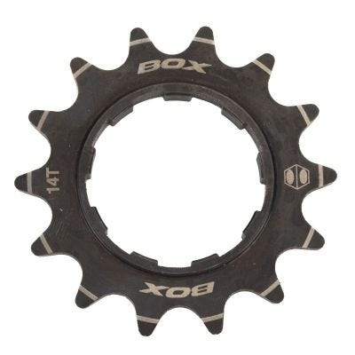 Box Pinion Single Speed Alloy Cassette Cog  - Black - 14T