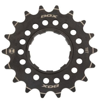 Box Pinion Single Speed Chromo Cassette Cog Black 18T