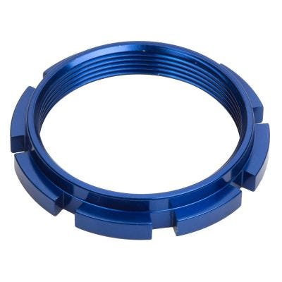 Box Edge Alloy Hub Lock Ring Blue