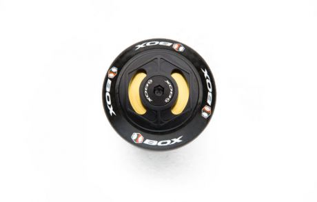 """Box One Carbon Integrated 1 1/8"""" Headset Black"""