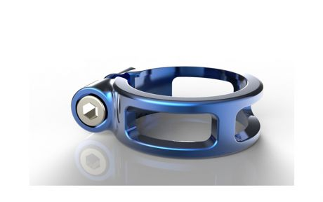 Box One Seat clamp 25.4mm Blue