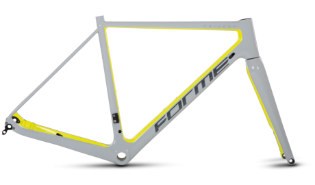Forme Calver SLC Frameset Yellow/Grey