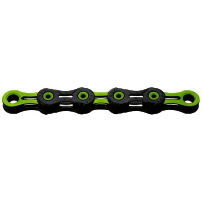 KMC X10SL DLC 10 Speed Chain 116 Link Black/Red