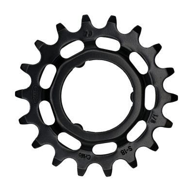 KMC Sprocket Rear Shimano Black 1/8"