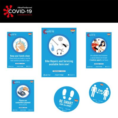 ETC Covid-19 Shop Signage Pack