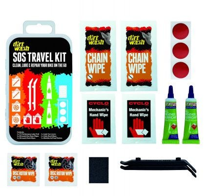 Dirt Wash SOS Travel Kit (x10)