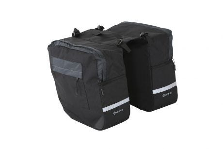 Bag Panniers Double Black