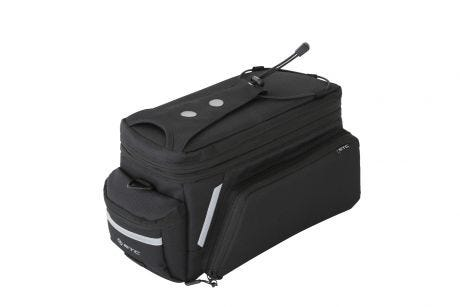 Bag Rack Fitting Fold Out Panniers Black
