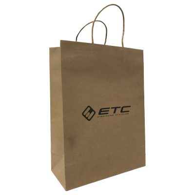 ETC Branded Paper Carrier Bags