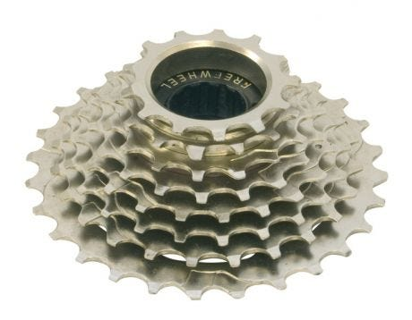 ETC 7 Speed Freewheel Nickel Plated