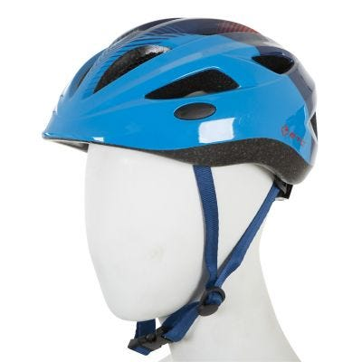 ETC J250 Junior Helmet Blue/Red 51cm-55cm