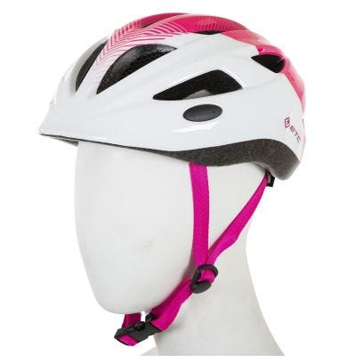 ETC J250 Junior Helmet White/Pink 51cm-55cm