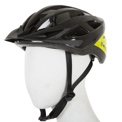 ETC L520 Adult Leisure Helmet Black/Yellow 53cm-60cm