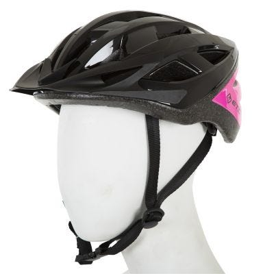 ETC L520 Adult Leisure Helmet Black/Pink 53cm-60cm